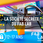 Société secrète du Fab - Texto 3D – porte-clés (20 octobre)