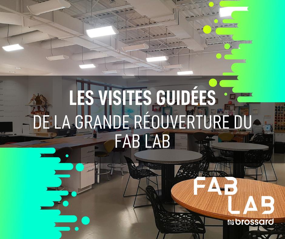 Fab lab visites guidées
